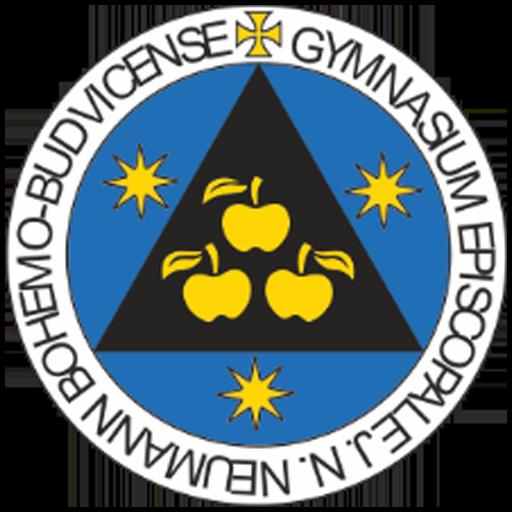 logo biskupské gymnázium české budějovice
