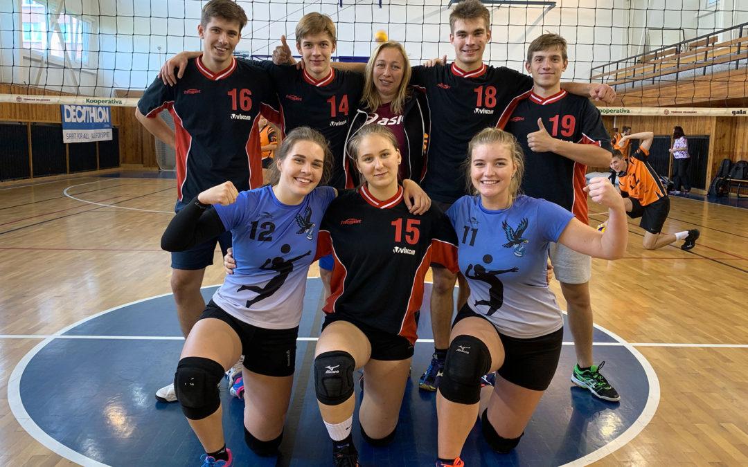 Středoškolská volejbalová liga se rozběhla v Ostravě