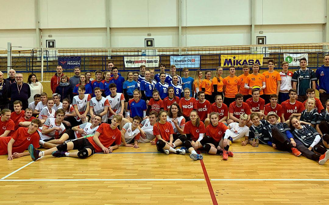 středoškolská liga české budějovice druhý turnaj